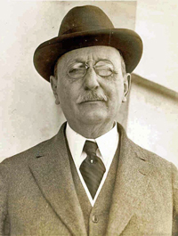 Cass Gilbert as president of the National Academy of Design, 1926.