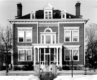 Charles Noyes House, 89 Virginia St., St. Paul, Minnesota, Thomas R. Blanck Collection