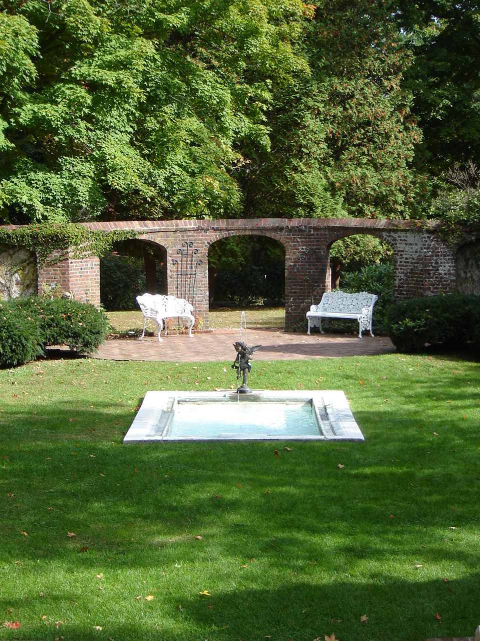Marvelous Garden House At Cannonball House (now Keeler Tavern), Ridgefield, CT Part 24