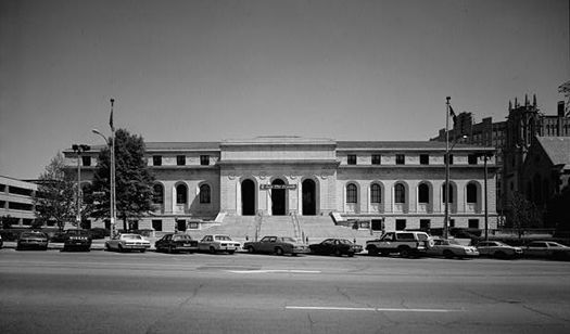 Detroit Main Library Tours