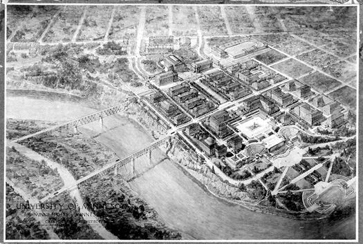 University of Minnesota Campus Plan, Image courtesy of Lance Neckar