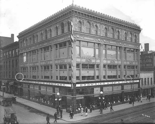 Boston Clothing Co. (Bowlby Building), Saint Paul, MN