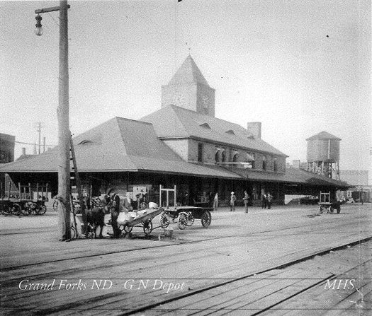 Great Northern Railway Depot - Grand Forks, Grand Forks, ND